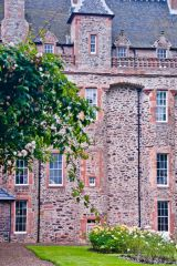 Thirlestane Castle , The castle exterior