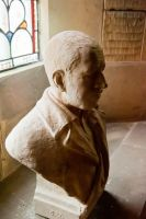 Thixendale, St Mary's Church, Sir Tatton Sykes bust