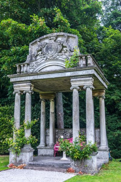 Thornbridge Hall Gardens photo, A rather grand neoclassical garden folly