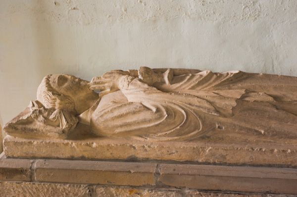 Thwing, All Saints Church photo, Medieval effigy