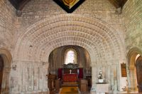 Tickencote, St Peter's Church, Chancel arch