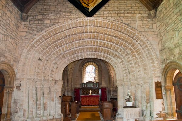 Tickencote, St Peter's Church photo, Chancel arch