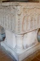 Tickencote, St Peter's Church, Font 2