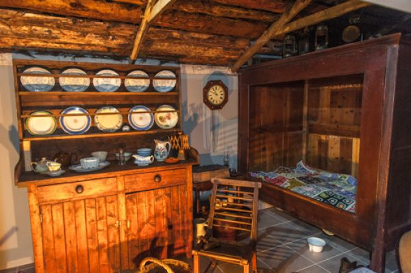 Timespan photo, The recreated village shop