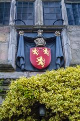 Coat of arms over the entrance