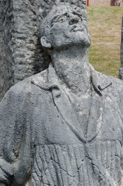 Tolpuddle Martyrs Museum photo, Detail of the Martyr's sculpture
