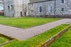 Torphichen Preceptory, Foundations of the cloister