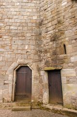 Torphichen Preceptory, The tower entrance