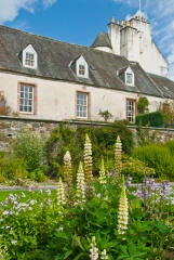 17th century wings at Traquair