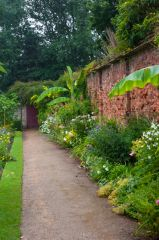 Tredegar House, Walled garden borders
