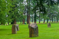 Tredegar House, The stone circle