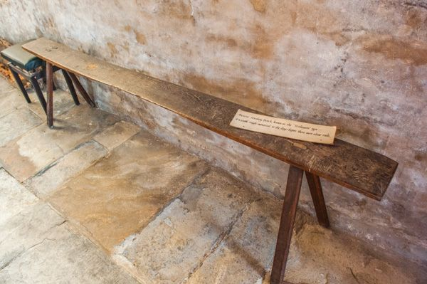 Tredington, St Gregory's Church photo, The ancient 'Housling bench'
