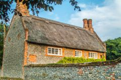 Trunch, A pretty thatched cottage in Trunch