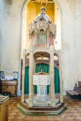 The font and canopy
