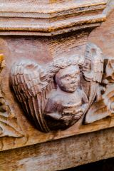 Trunch, St Botolph, Misericord carved figure