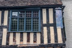 Timber-framing and exposed wattle and daub