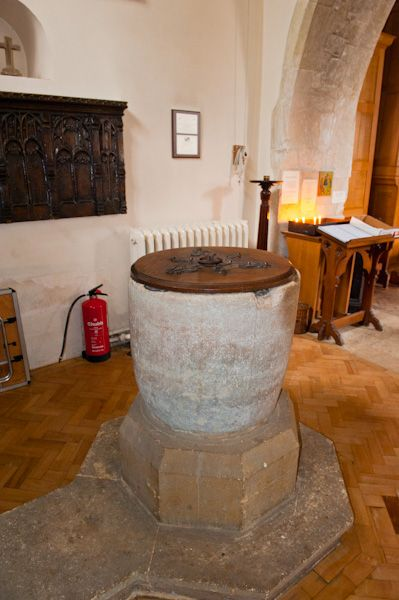 Turville, St Mary's Church photo, The Font