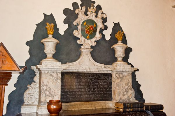 Turville, St Mary's Church photo, Perry Memorial, 18th century