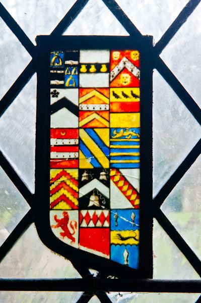 Turville, St Mary's Church photo, Tudor coat of arms