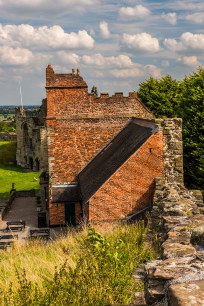 Tutbury Castle photo, The King's Lodging