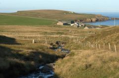 Unst and Yell, Skaw, on Unst (c) Mike Pennington