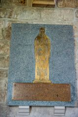 Upton Lovell, St Augustine of Canterbury Church, Rector Richard Brown brass, 1948