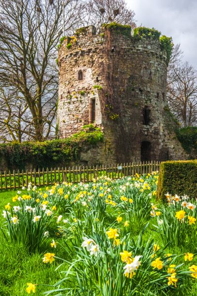 Usk Castle photo, The Garrison Tower