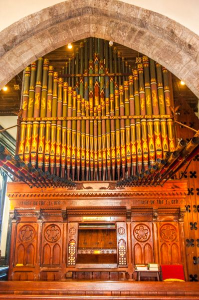 Image result for st mary usk organ