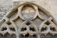 Chapter house tracery
