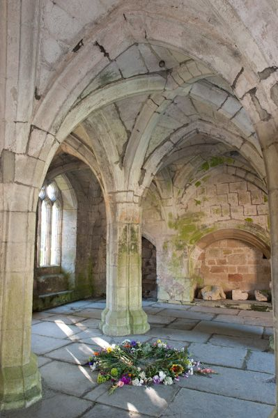 Valle Crucis Abbey photo, Chapter house