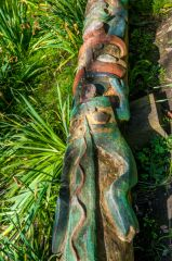 Ventnor Botanic Garden, The Totem Pole