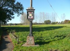 The village sign (c) Humphrey Bolton