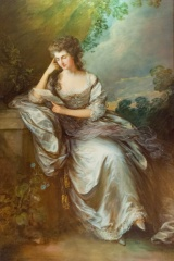 Frances Browne by Gainsborough