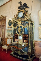 Ornate Marie Antoinette writing desk