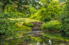 Wakehurst Place, A quiet garden pool
