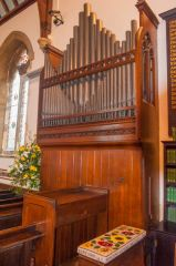 Chapel of St Lawrence, Warminster, The Victorian organ