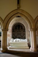 Warter, St James' Church, Lady Wilson tomb