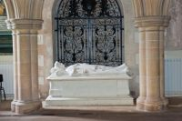 Warter, St James' Church, Lady Wilson tomb 3