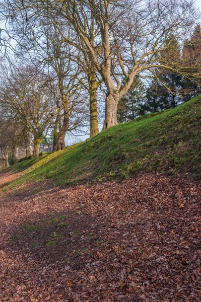 Watling Lodge (Antonine Wall) photo, From the bottom of the ditch