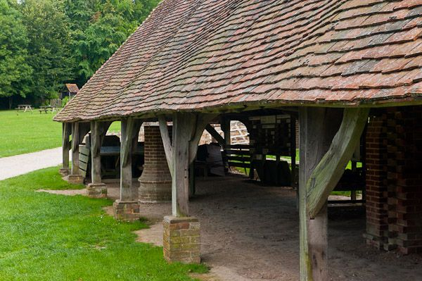 Weald and Downland Open Air Museum photo, 18th century Drying Shed