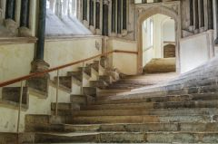 Wells Cathedral, Stairs to the chapter house