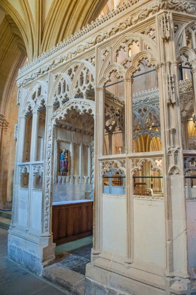 Wells Cathedral photo, Medieval chantry chapel