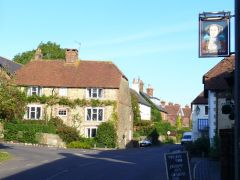 West Chiltington, Village centre and Queen's Head (c) Colin Smith