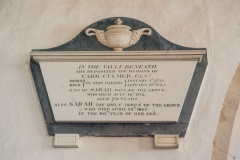 Carr Culmer memorial tablet - 100 years old or not?