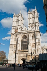 Westminster Abbey, west towers