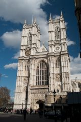 Westminster Abbey, The west front