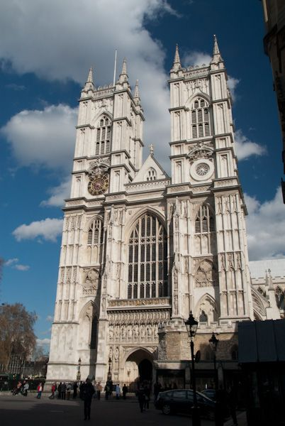 Westminster Abbey photo, The west front