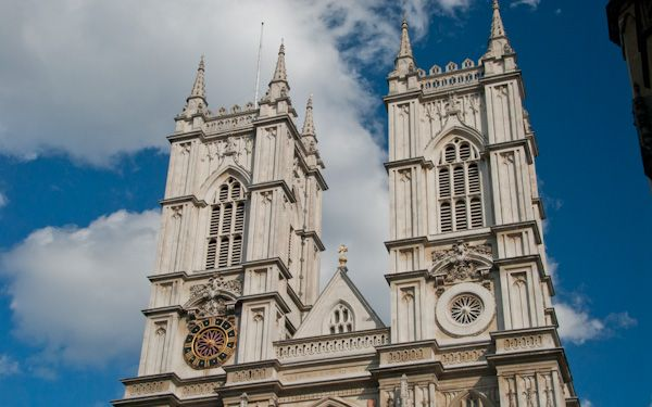 Westminster Abbey photo, The West towers