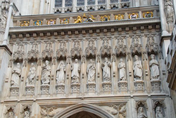 Westminster Abbey photo, 20th century martyrs