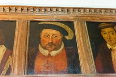 Tudor portraits, King's Room